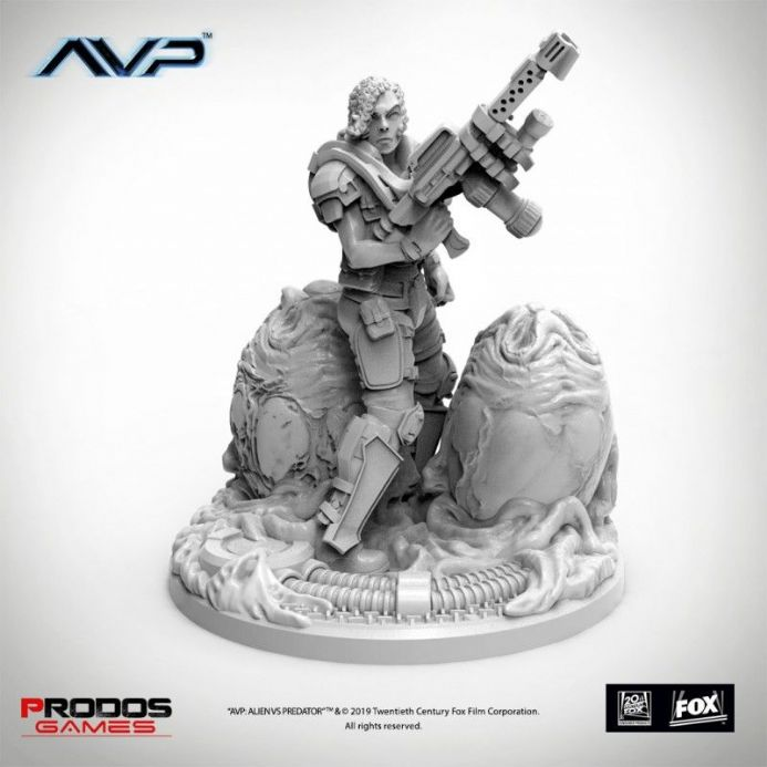 AvP: The Hunt Begins – Female Marine Flamer Expansion | Buy now at The G33Kery - UK Stock - Fast Delivery